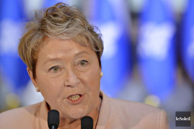 L'ex-première ministre du Québec, Pauline Marois.... (Photo Pascal Ratthé, archives Le Soleil)
