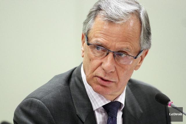 Le maire sortant Marcel Guibord a également voulu... (Étienne Ranger, Archives LeDroit)