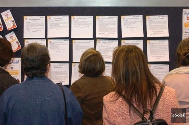L'OCDE prévient que «cette montée du chômage structurel... (Photo archives Le Soleil)