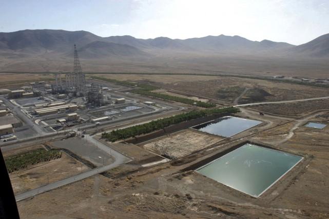 L'usine d'eau lourde d'Arak, à 320km au sud... (PHOTO ARCHIVES AGENCE FRANCE PRESSE)