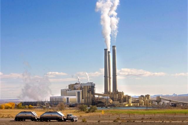 D'ici 2030,les centrales thermiquesdes États-Unis devront réduire leurs... (Photo AP)