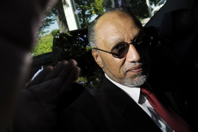 L'ancien vice-président de la FIFAMohamed Ben Hammam.... (PHOTO FABRICE COFFRINI, ARCHIVES AFP)
