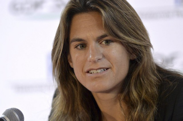 Amélie Mauresmo... (PHOTO MIGUEL MEDINA, ARCHIVES AFP)