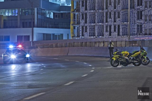 La vitesse excessive pourrait être à l'origine du... (Photo Félix O.J. Fournier, La Presse)