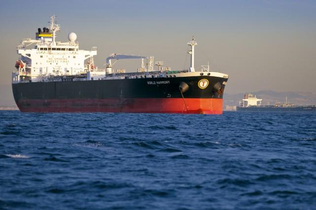 Un pétrolier... (Photo Tim Rue, Archives Bloomberg)