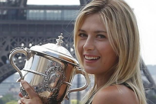 Maria Sharapova a remporté son deuxième titre de... (Photo Michel Euler, AP)