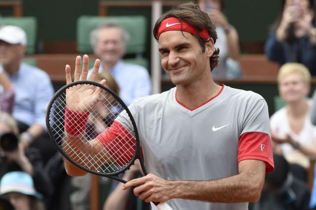 Roger Federer... (Photo Pascal Guyot, archives AFP)