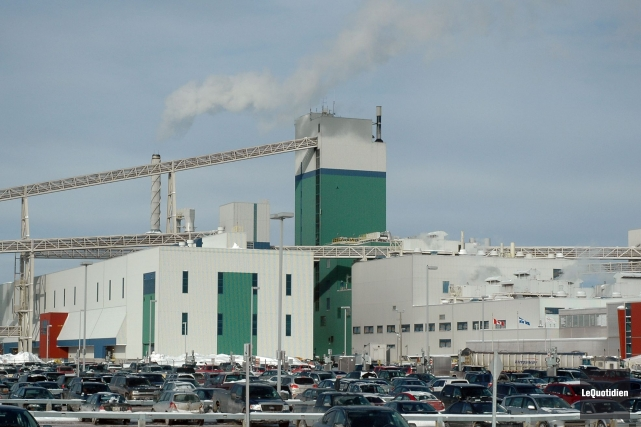 L'usine de Rio Tinto Alcan à Alma.... (Photo Steeve Tremblay, archives Le Quotidien)
