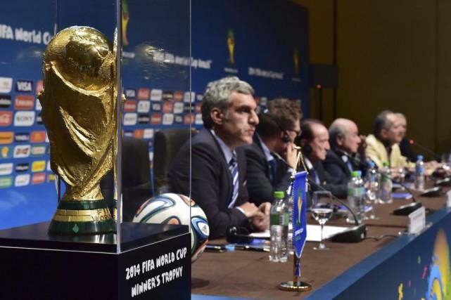 Les conditions d'attribution du Mondial-2022 au Qatar suscitent... (PHOTO NELSON ALMEIDA, AFP)