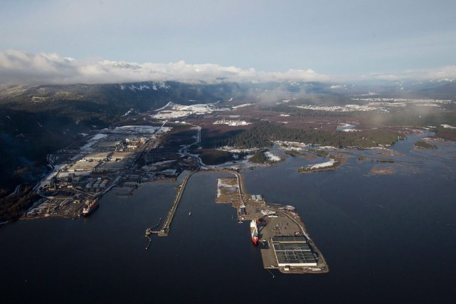 L'oléoduc Northern Gateway servirait à transporter du pétrole dilué... (Photo Darryl Dyck, PC)