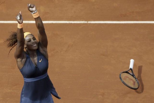 En 2013,Serena Williams a remporté les Internationnaux de... (Kenzo Tribouillard, Agence France-Presse)