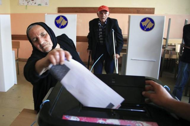 Le Parti du Premier ministre sortant Hashim Thaçi a revendiqué la victoire aux... (Photo: Reuters)