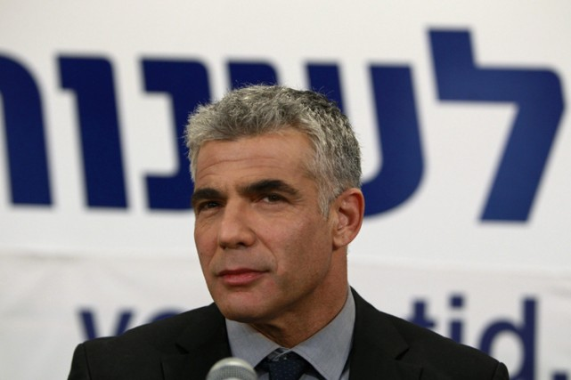 Le ministre Yair Lapid a indiqué que s'il y... (Photo: Reuters)