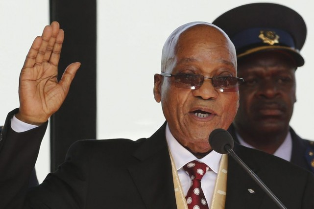 Jacob Zuma... (Photo: AFP)