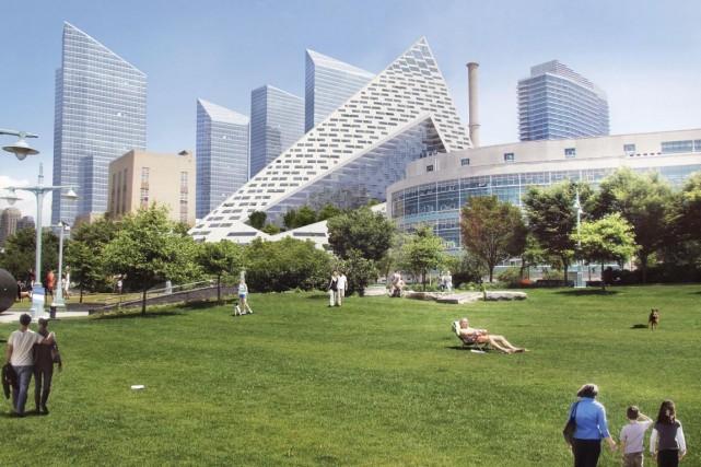 À New York, l'architecte danois Bjarke Ingels et... (Image fournie par BIG)