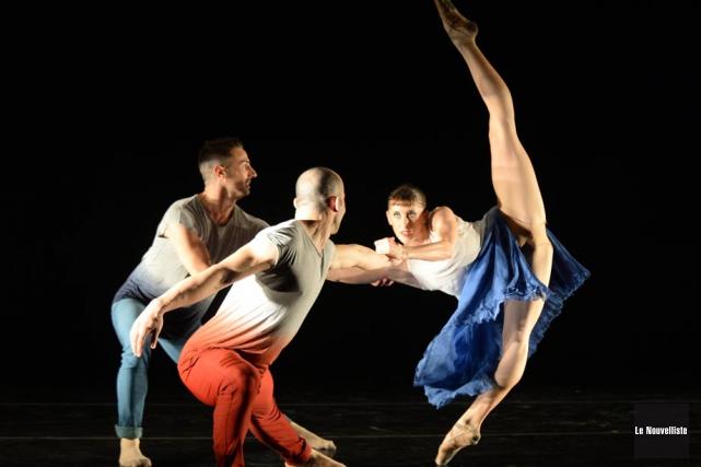 Danse Encore se tiendra du 4 au 7... (Photo: Sylvain Mayer, Le Nouvelliste)
