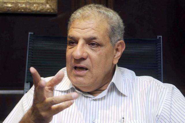 Ibrahim Mahlab a indiqué que M.Sissi l'avait chargé... (PHOTO ARCHIVES REUTERS/STRINGER)
