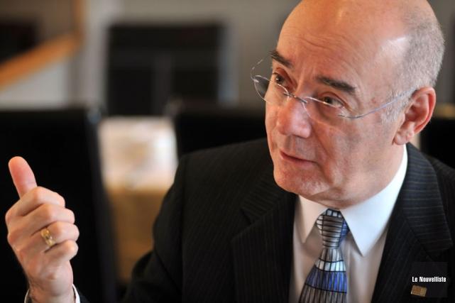 Le ministre québécois de l'Économie, de l'Innovation et... (Photo: Stéphane Lessard, Le Nouvelliste)