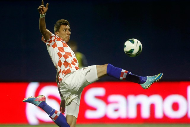 Mario Mandzukic... (Photo Darko Bandic, AP)
