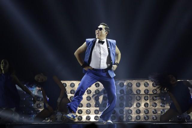 Le chanteur pop sud-coréen détient notamment le record... (Photo Lee Jin-man, AP)