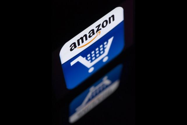 Le géant américain de la distribution en ligne Amazon espère mettre un peu plus... (PHOTO LIONEL BONAVENTURE, ARCHIVES AFP)
