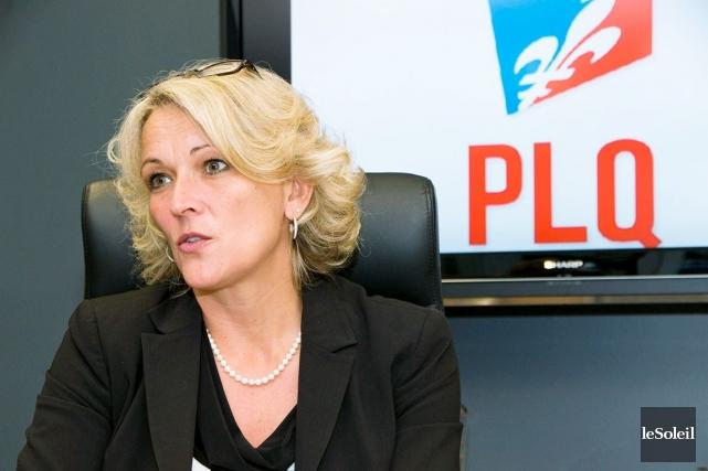 Lise Thériault a confirmé qu'un juge a ordonné... (Photothèque Le Soleil)
