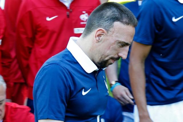 Avec la perte de Franck Ribéry, l'équipe de... (Photo Charles Platiau, Reuters)