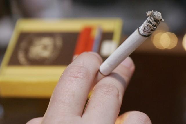 La Cour suprême des États-Unis a débouté lundi l'industrie du tabac, qui... (PHOTO JEFF HAYNES, ARCHIVES AFP)