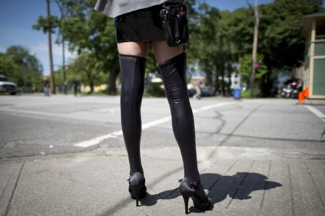 «Les personnes prostituées, à notre sens, sont des... (Photo Jonathan Hayward, archives La Presse Canadienne)