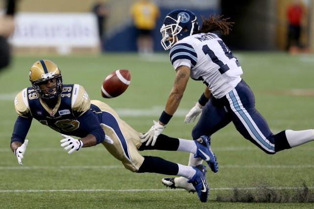 Les Argonauts de Toronto et les Blue Bombers... (Photo Trevor Hagan, PC)