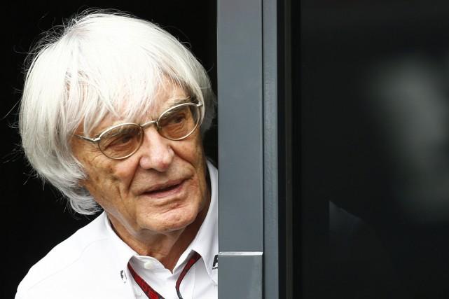 Bernie Ecclestone, grand manitou de la F1, dit... (Photo archives Reuters)