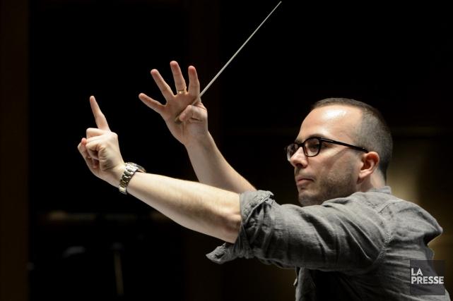 Yannick Nézet-Séguin sera au pupitre pour le concert... (Photo: Bernard Brault, archives La Presse)