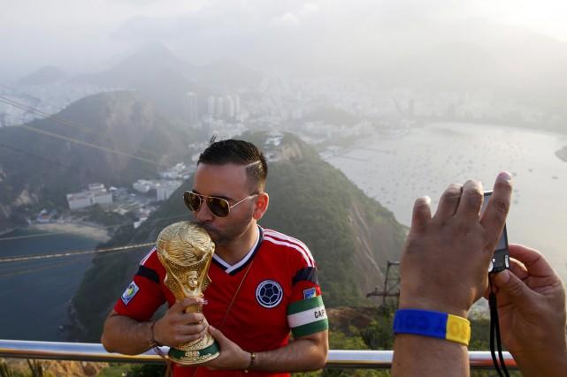 Selon la FIFA, l'empreinte carbone de la Coupe... (PHOTO PAUL HANNA, ARCHIVES REUTERS)