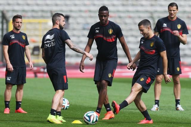L'équipe belge est jeune, mais expérimentée, et pourrait... (Photo Virginie Lefour, AFP)