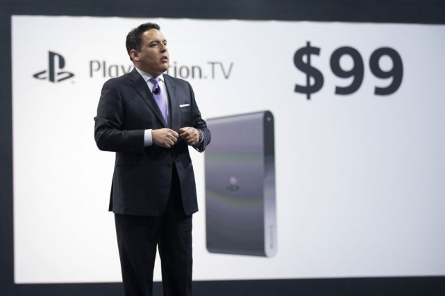 Shawn Layden, PDG de Sony Computer Entertainment America,... (PHOTO MARIO ANZUONI, REUTERS)