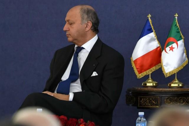 Le ministre français des Affaires étrangères, Laurent Fabius.... (Photo Farouk Batiche, AFP)