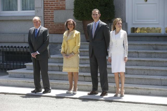 Il faut souligner le grand rôle qu'a joué pour la démocratie le roi Juan Carlos... (Photo archives Reuters)