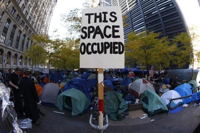 Les manifestants s'étaient rassemblés, le 31 décembre 2011,... (Photo MIKE SEGAR, Archives Reuters)