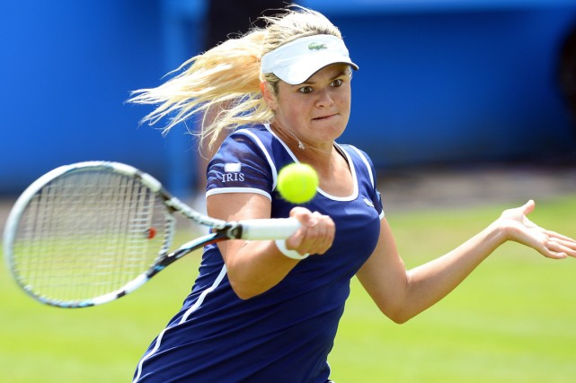 Aleksandra Wozniak... (Photo Andrew Yates, AFP)