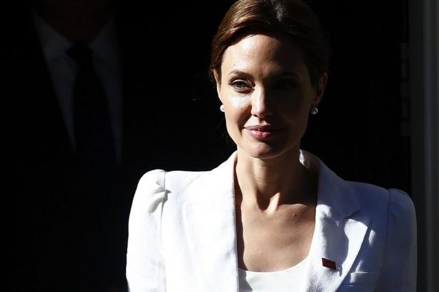 Angelina Jolie... (Photo: Reuters)
