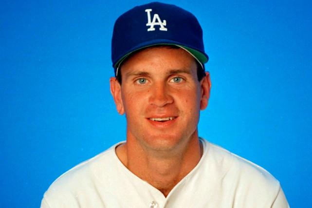 Le lanceur Bob Welch dans l'uniforme des Dodgers... (Photo archives AP)