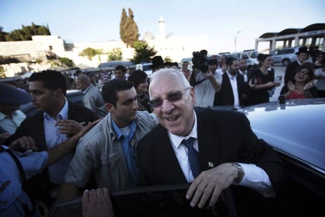 Reuven Rivlin, qui prendra les rênes d'Israël.... (Photo AFP)