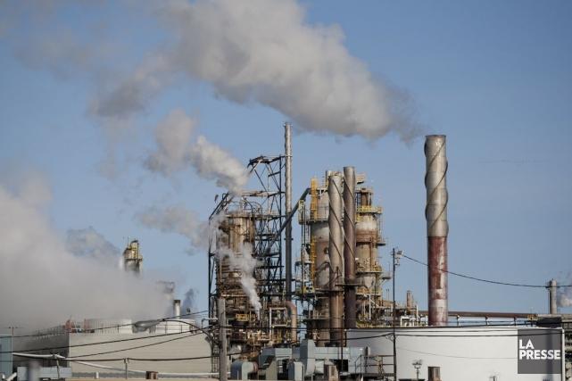La raffinerie que Pacific Future projette de construire... (PHOTO DAVID BOILY, ARCHIVES LA PRESSE)