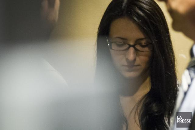 Emma Czornobaj est accusée de conduite dangereuse et... (Photo: Olivier Pontbriand, archives La Presse)
