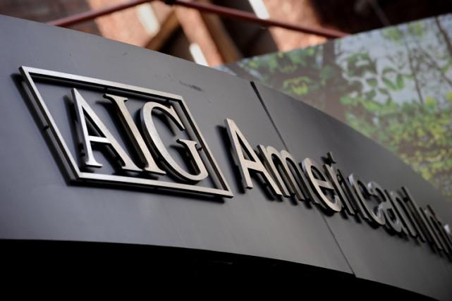 L'assureur américain AIG, sauvé de la faillite par l'État fédéral lors de la... (Photo: AFP)