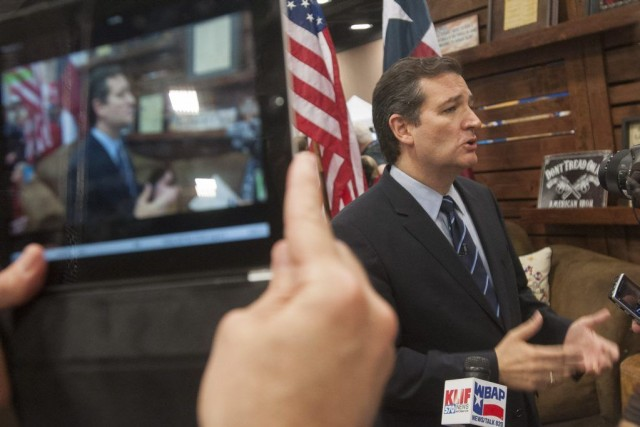 Le sénateur républicainTed Cruz.... (Photo AP)