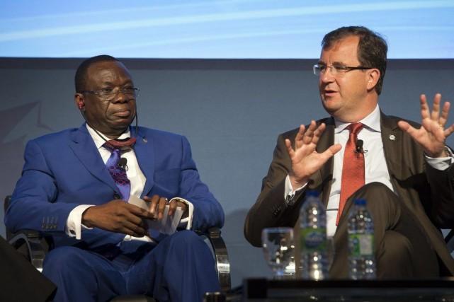 Luc Adolphe Tiao, premier ministre du Burkina Faso,... (PHOTO RYAN REMIORZ, LA PRESSE CANADIENNE)