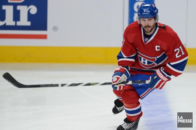 Le capitaine Brian Gionta sera-t-il de retour avec... (Photo Bernard Brault, archives La Presse)