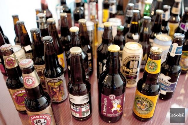 Le Mondial de la bière de Montréal est... (Photothèque Le Soleil)