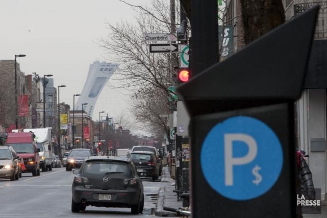 Les revenus de stationnement ont grimpé en flèche... (Photo Ivanoh Demers, archives La Presse)